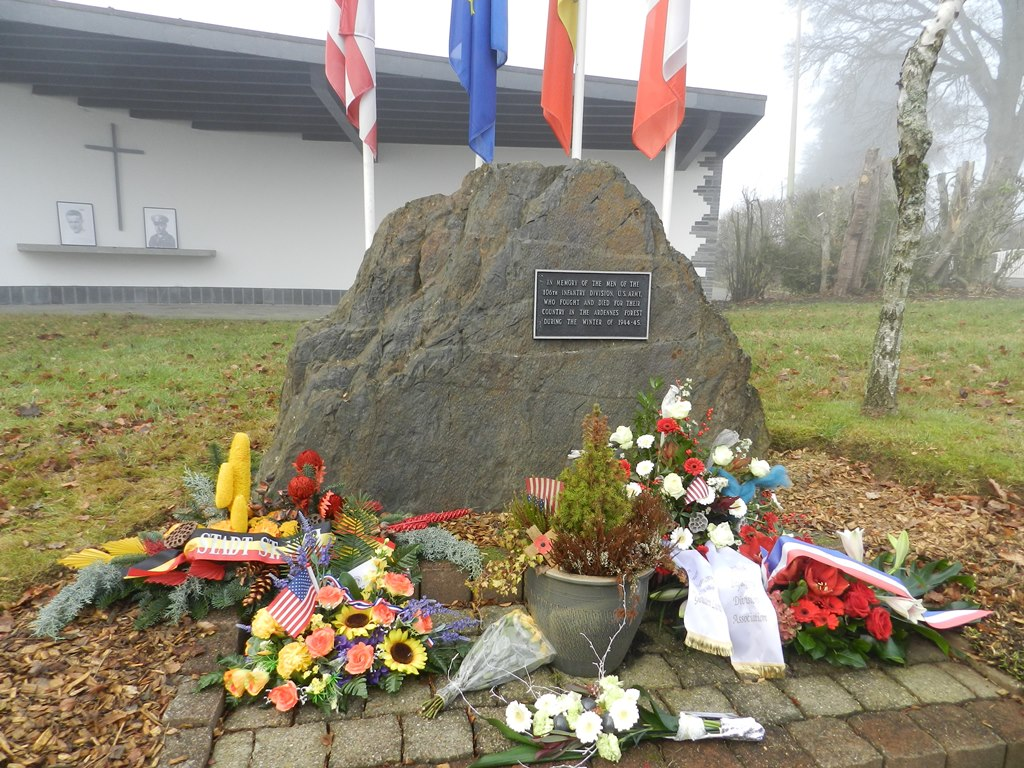 106th Division monument